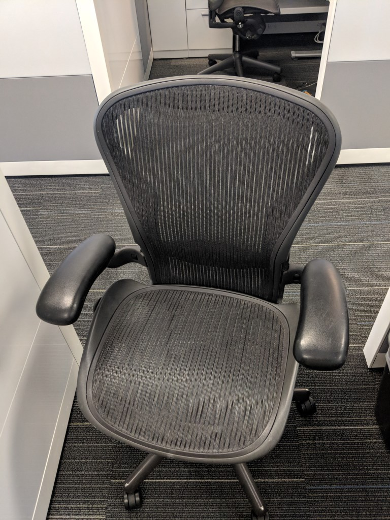 miller aeron chair instructions