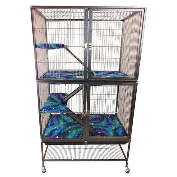 prevue hendryx black feisty ferret cage instructions