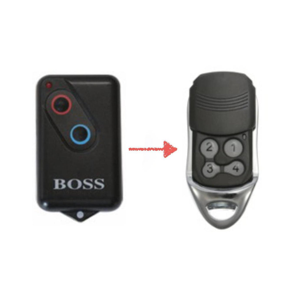boss ht4 remote instructions