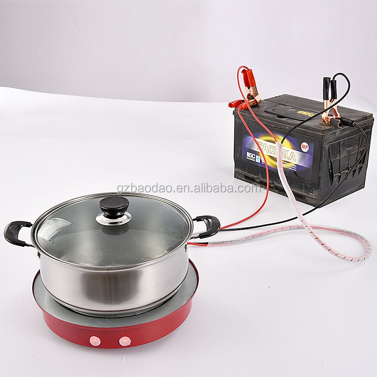 eurochef induction cooktop use instructions