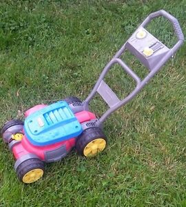 fisher price bubble lawn mower instructions