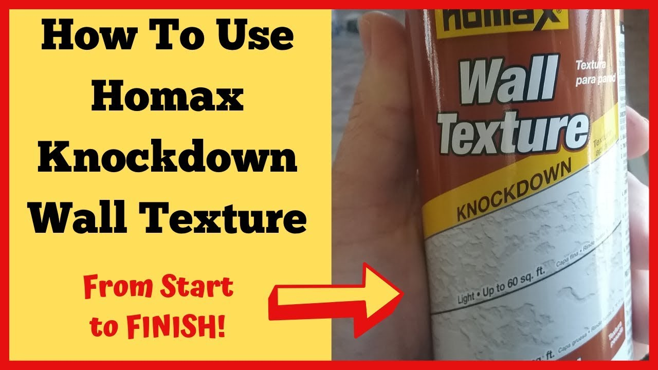 homax wall texture instructions