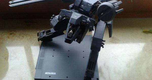 kotobukiya metal gear rex english instructions