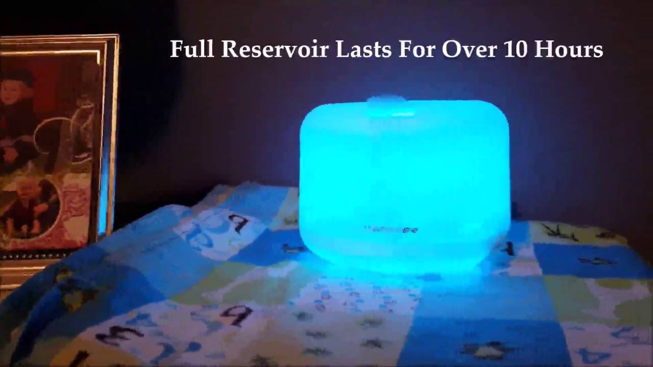ellestfun essential oil diffuser instructions