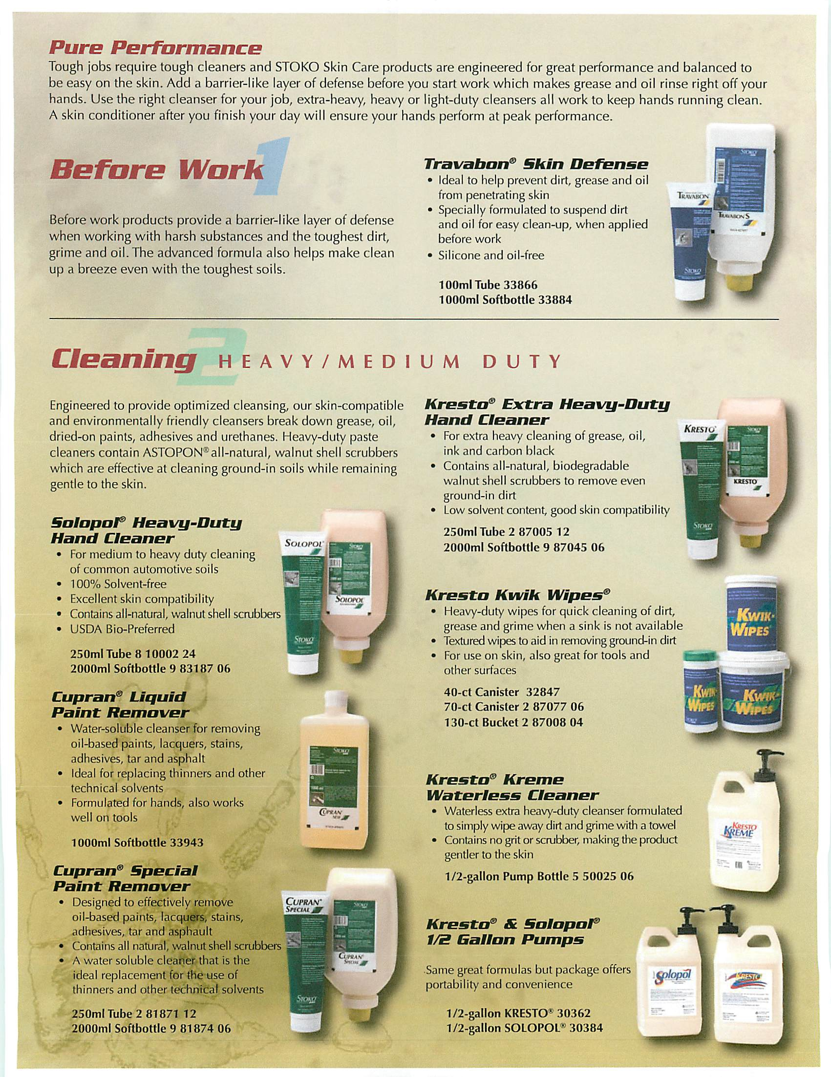 kenco heavy duty degreaser instructions