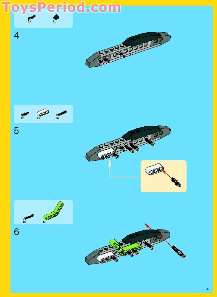 moster 4 instructions lego