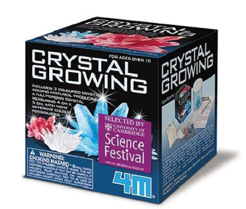 crystal growing kit 4m instructions