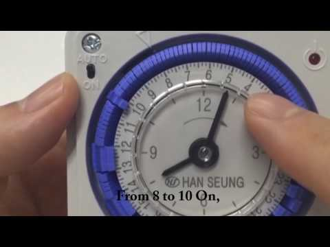 baxi boiler digital timer instructions