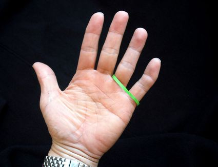 rubber hand illusion instructions