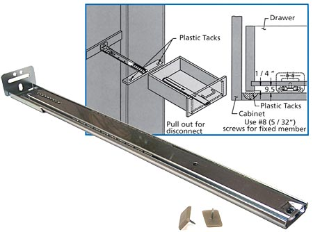 g grass drawer slides installation instructions