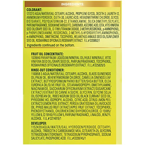 garnier nutrisse bleach instructions
