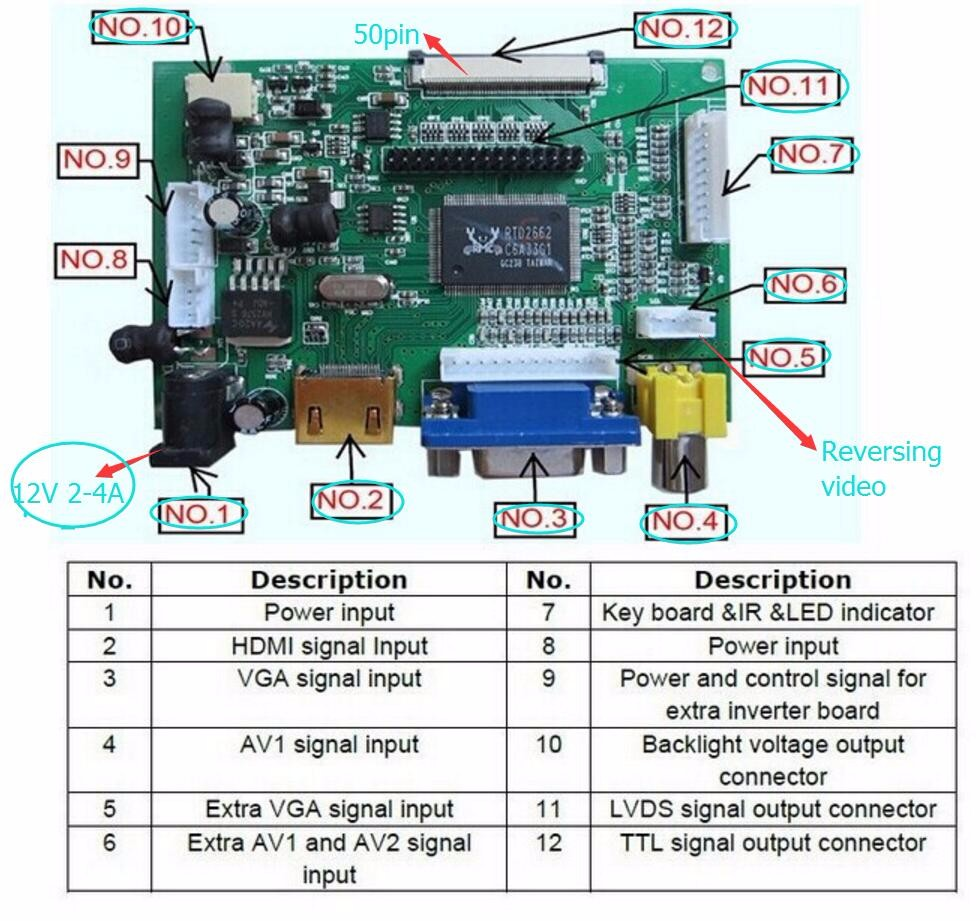 lvds controller board instructions