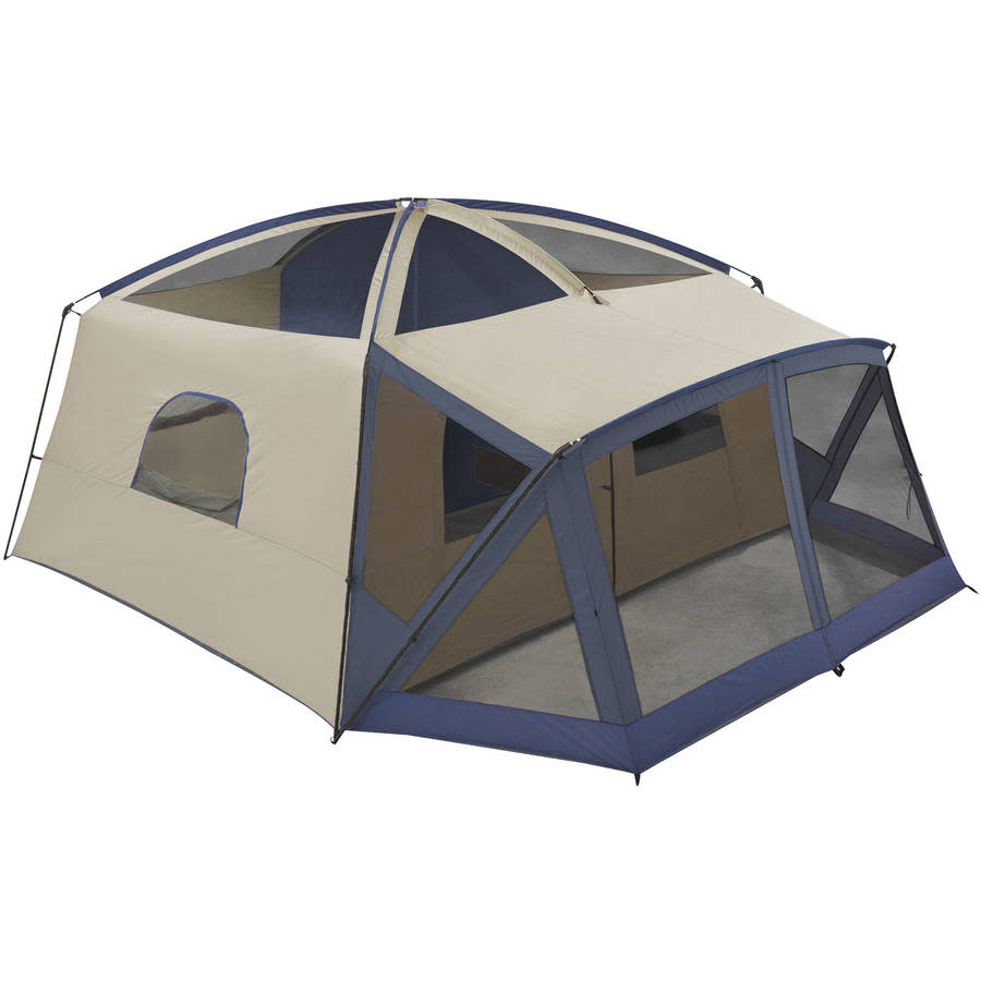 ozark trail 14 person 4 room tent instructions