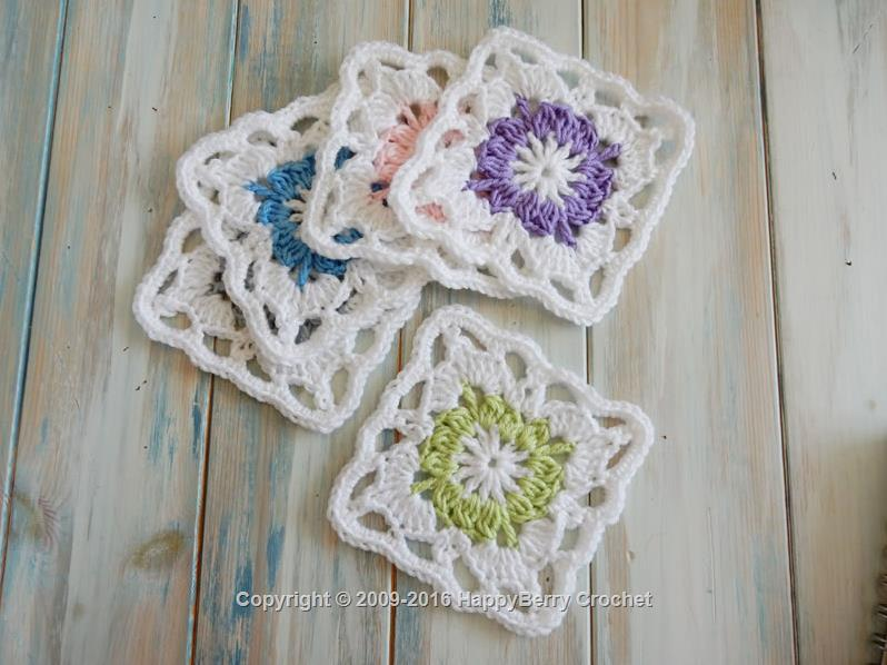 free printable granny square instructions