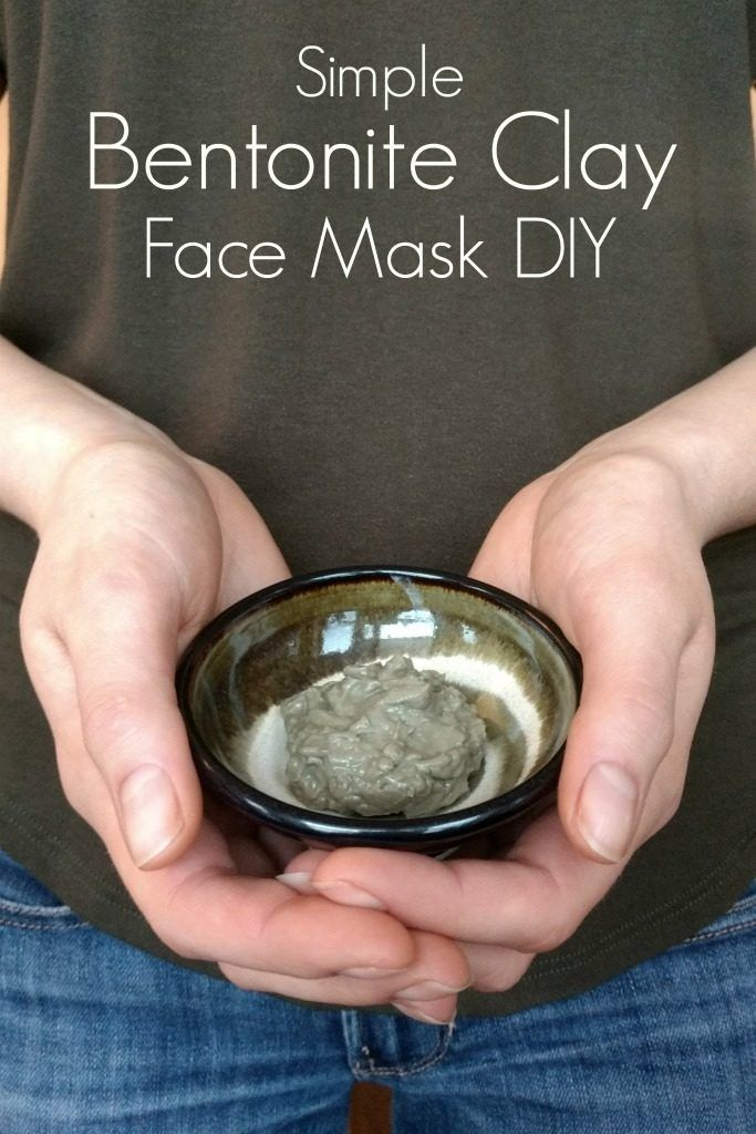 instructions for bentonite clay mask