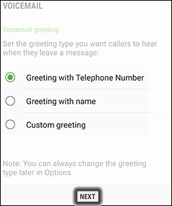 verizon wireless voicemail setup instructions