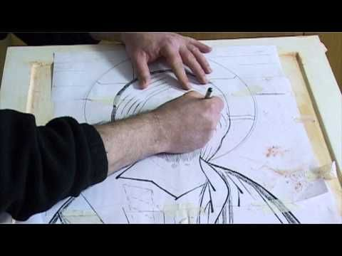 instruction on how to use and apply gold leaf