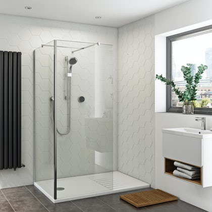 instructions for aeros shower screen
