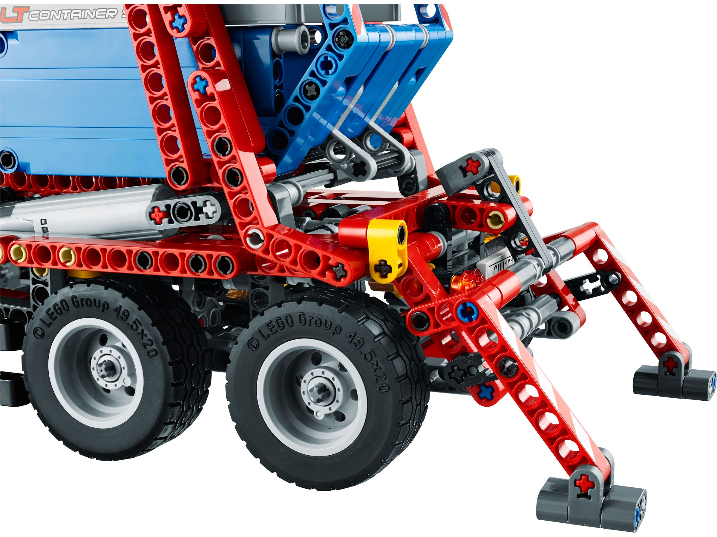lego technic container truck 42024 instructions