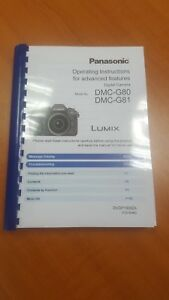 panasonic lumix g5 instruction manual