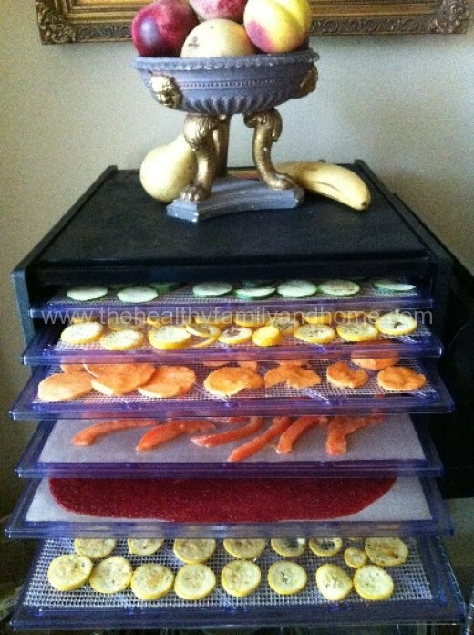 kitchen living dehydrator instructions