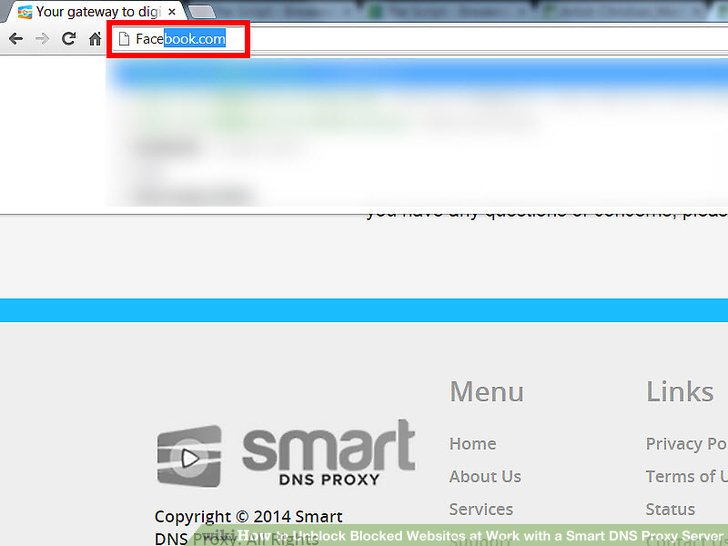unblock or proxy instructions on how to unblok