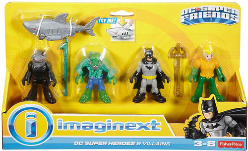 imagine next dc super heroes playset instructions