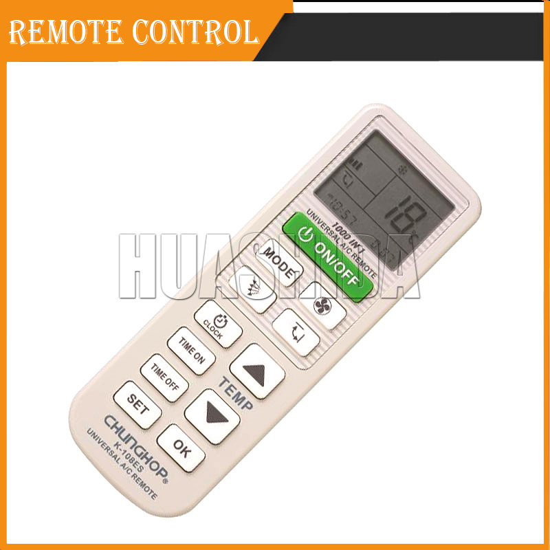 air conditioner universal remote control instructions