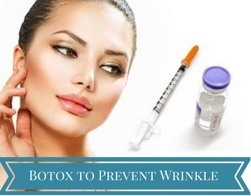 anti wrinkle injection pre care instructions