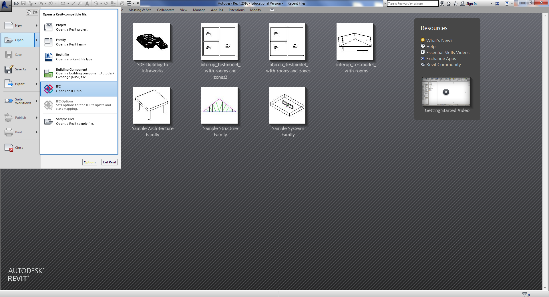 archicad instructions setting up model