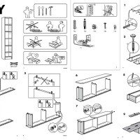assembly instruction manual drawings hand drawing