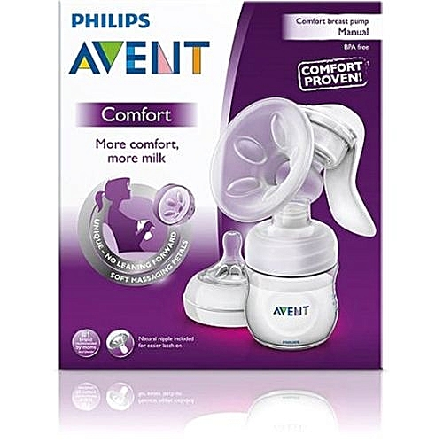 avent isis manual breast pump instructions