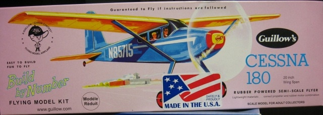 guillows cessna 180 instructions