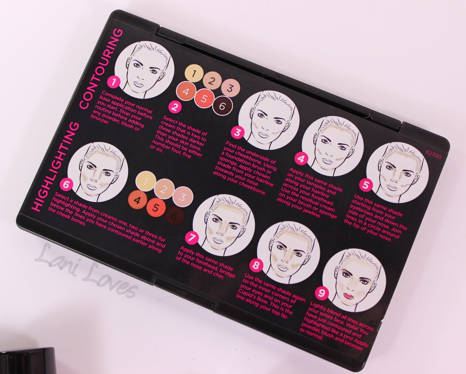 australis contour palette instructions