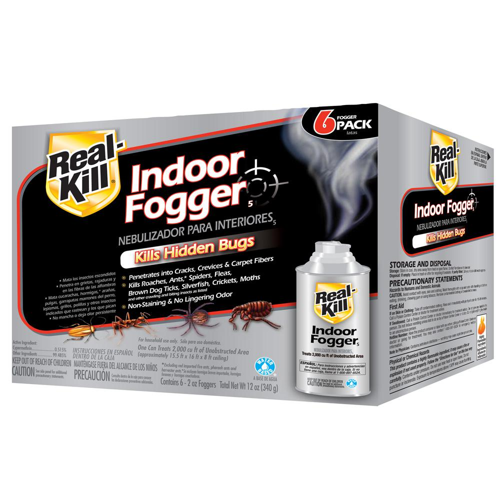 raid roach fogger instructions