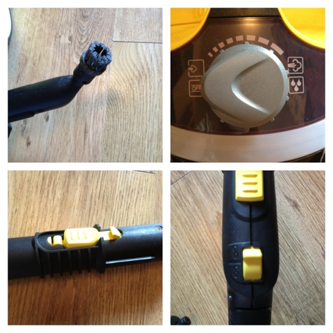 karcher sc952 hand held steamer instructions