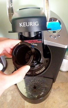 keurig k cup holder cleaning instructions