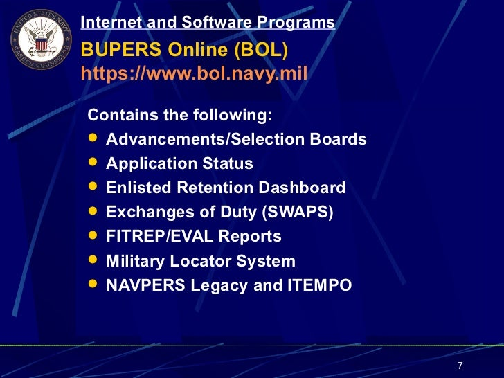 navy officer programs instruction