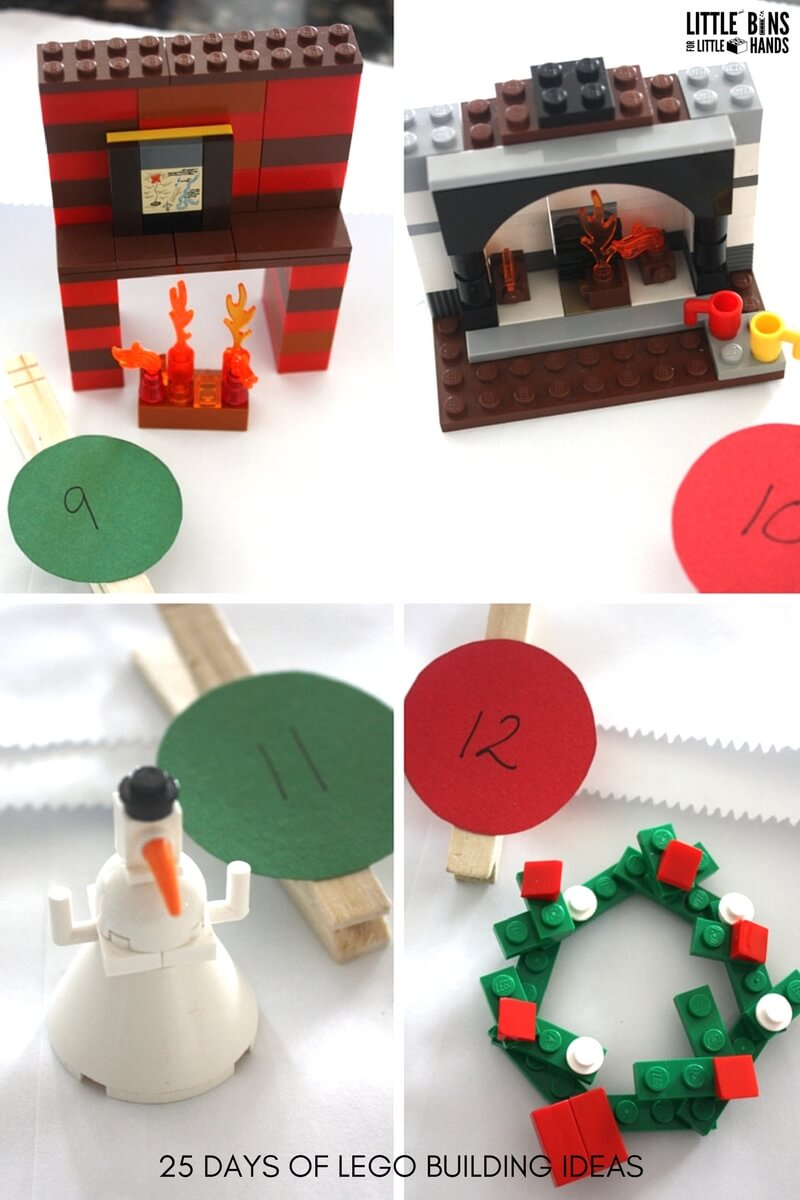 lego christmas tree truck instructions