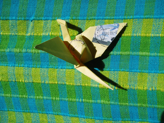mini origami crane instructions