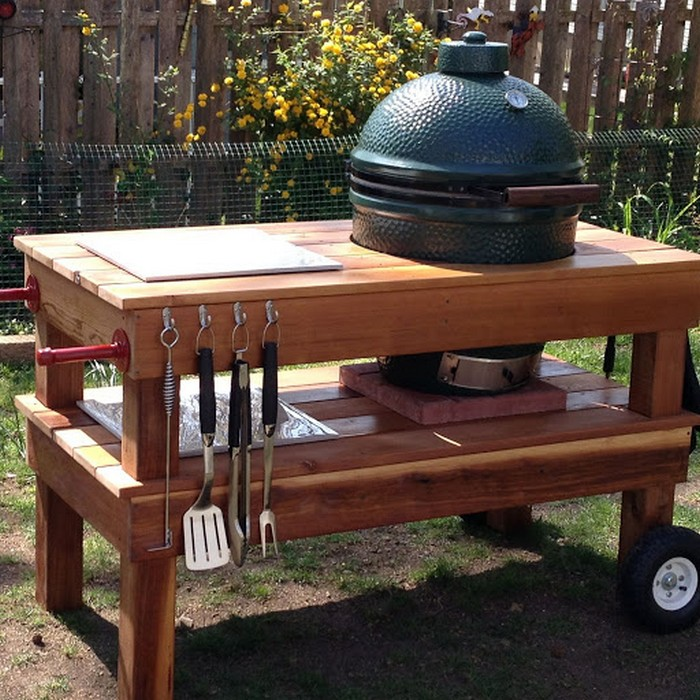 weber bbq stand instructions