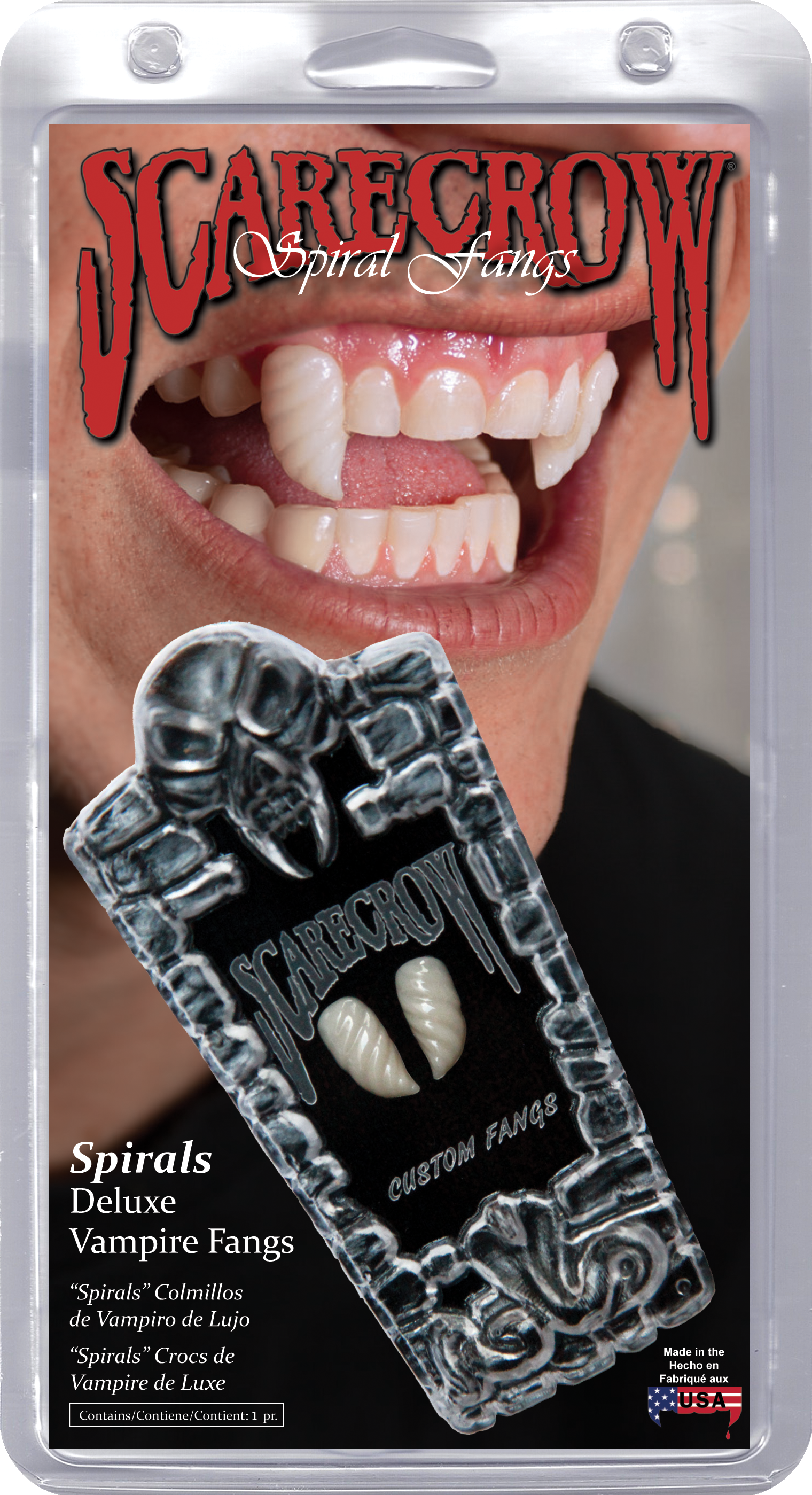 retractable vampire fangs instructions