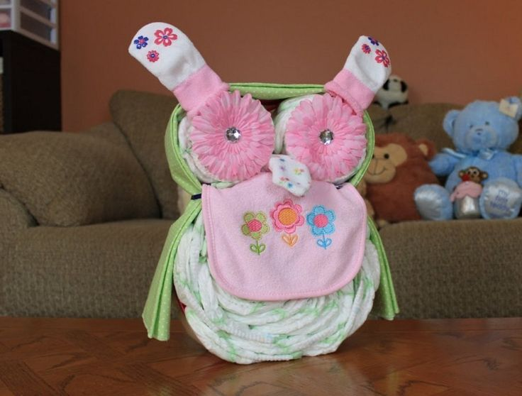 baby diaper cake instructions easy