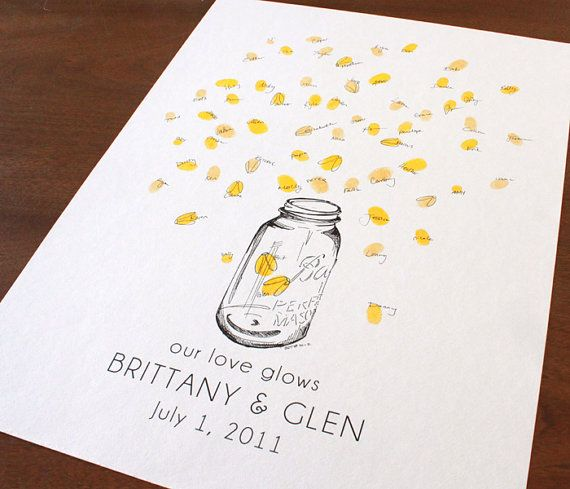 baby shower thumbprint instructions