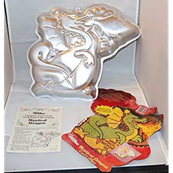 thinkgeek dragon cake pan instructions