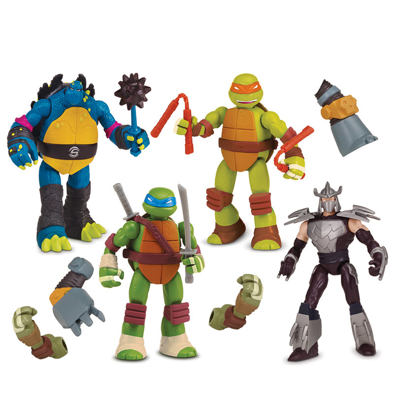 tmnt monster action tower instructions