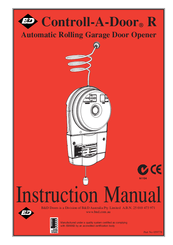 b&d garage door instruction manual