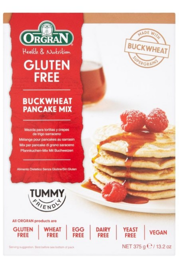 orgran buckwheat pancake mix instructions