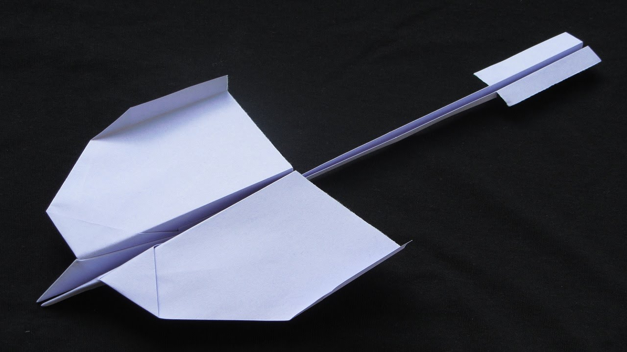 best flying paper plane instructions