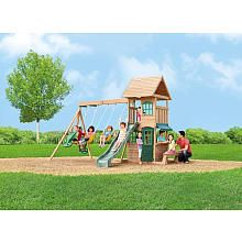big backyard windale wooden swing set instructions